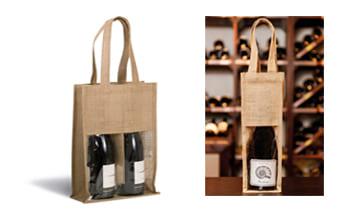 Bolsas de botellas para personalizar.