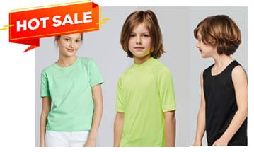 Camisetas infantiles publicitarias para serigrafia, Camisetas Baratas infantiles, Camisetas Promocionales infantiles, Comprar camisetas infantiles baratas.