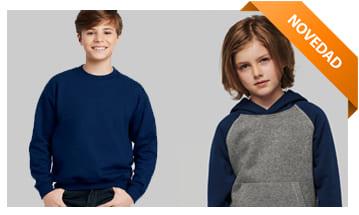 Sudaderas y otros productos para el invierno, para publicitar tu empresa con regalos prácticos en camisetas fruit.