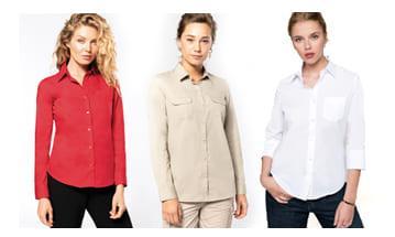 Camisas y otros productos para el invierno, para publicitar tu empresa con regalos prácticos.