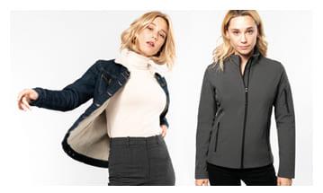 Parkas, chaquetas e impermeables y otros productos para el invierno, para publicitar tu empresa con regalos prácticos.