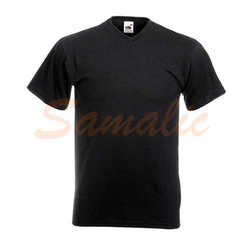 COMPRAR CAMISETA CON CUELLO PICO REF 610660C FRUIT OF THE LOOM