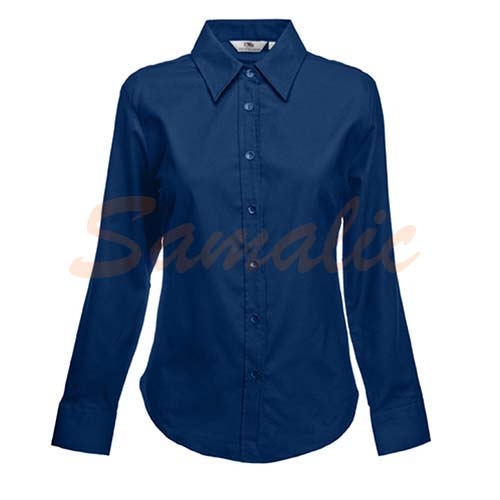 CAMISA PROMOCION OXFORD MANGA LARGA REF 650020 FRUIT OF THE LOOM