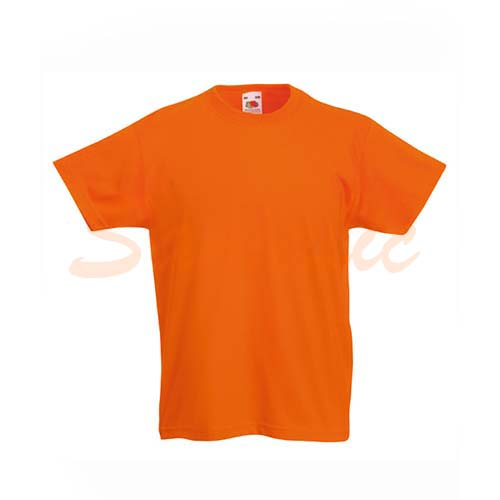 CAMISETA DE NIÑO VALUEWEIGHT REF 610330C FRUIT OF THE LOOM