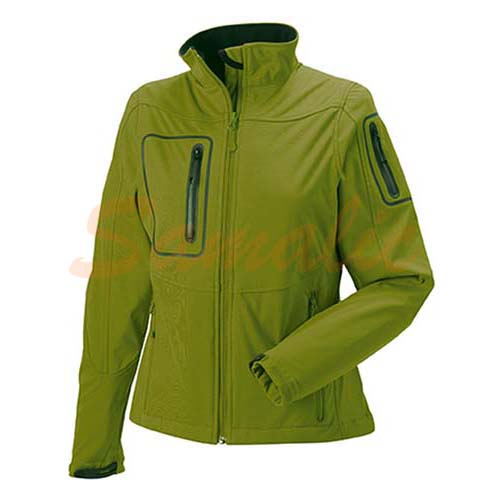 CAZADORA PUBLICITARIA SPORTS SHELL 5000 MUJER REF R520F RUSSELL