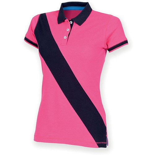 COMPRAR POLO DIAGONAL STRIPE MUJER REF FR213 FRONT ROW