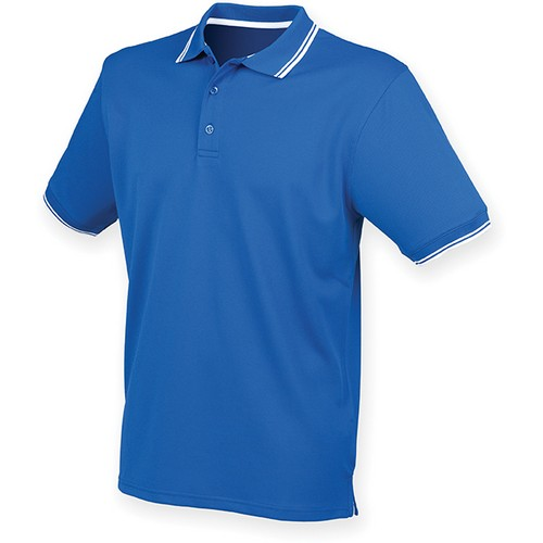 COMPRAR POLO COOL PLUS CON RIBETE REF H482 HENBURY