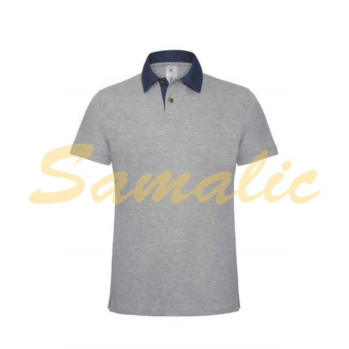 COMPRAR POLO DENIM FORWARD REF BCPMD30 B&C