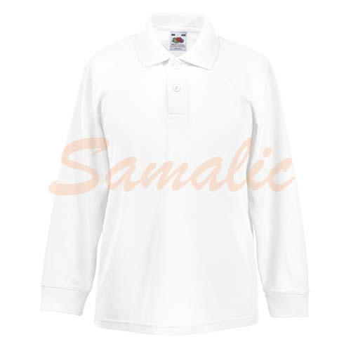 COMPRAR POLO DE NIÑO 65/35 PROMOCIONAL REF 632010 FRUIT OF THE LOOM