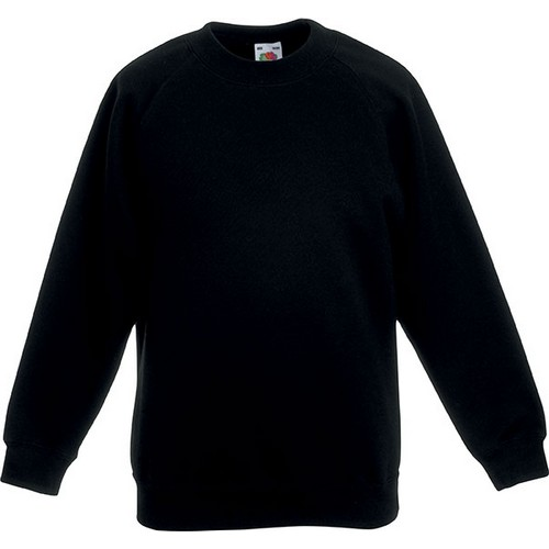 COMPRAR SUDADERA MANGA RAGLAN NINOS 62 039 REF SC62039 FRUIT OF THE LOOM