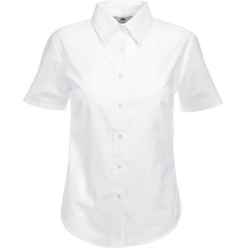 COMPRAR CAMISA OXFORD MANGA CORTA MUJER 65-000 REF SC65000 FRUIT OF THE LOOM