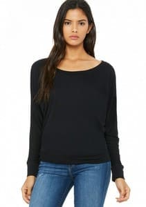 COMPRAR CAMISETA FLOWY MANGA LARGA DOLMAN REF BE8850 BELLA-CANVAS