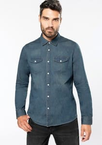 CAMISA DENIM REF K519 KARIBAN