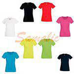 CAMISETA MUJER DEPORTIVA ALTO RENDIMIENTO REF 613920 FRUIT OF THE LOOM