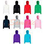 SUDADERA DE CAPUCHA ENTALLADA REF 620380 FRUIT OF THE LOOM
