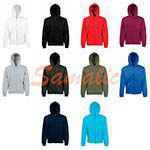 SUDADERA CAPUCHA Y CREMALLERA CLASSI REF 620620 FRUIT OF THE LOOM