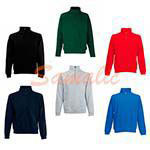 SUDADERA DE MEDIA CREMALLERA REF 621140 FRUIT OF THE LOOM