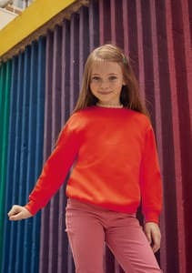 SUDADERA DE NIÑO CLASSI REF 620410 FRUIT OF THE LOOM