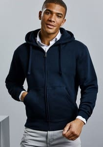SUDADERA AUTHENTI ZIPPED HOOD REF R266M RUSSELL